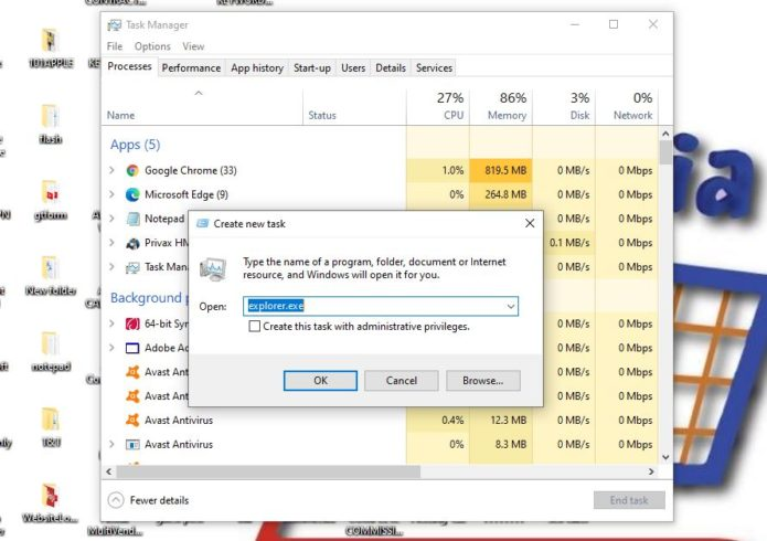 Fix File Explorer Not Responding
